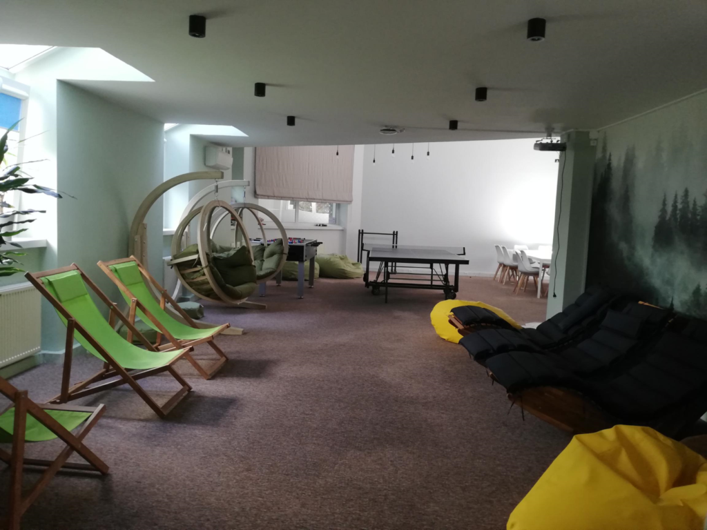 A common area in one of our offices